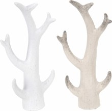 ANTLERS WALLDECO 21CM 2ASS