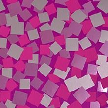Squares design paper (80cm x 50m/Pink)