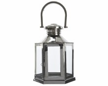 stainl steel lantern w handle