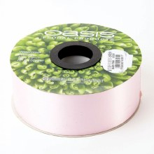 Poly Ribbon Satin Baby Pink (4.8cm x 91m)