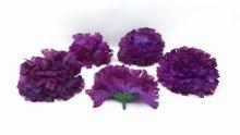 Carnation Heads 24 Dz Purple