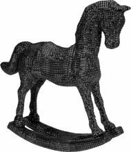 ROCKINGHORSE 45CM BLACK