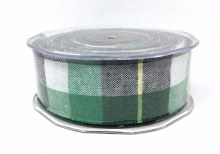 Big Tartan Ribbon Hunter (4cm x 15m)