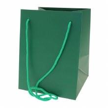 Hand Tie Bag Dark Green (19x25cm)