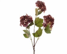 silk hydrangea branch w ant w