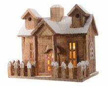 LED wooden house ind bo