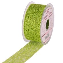 Web Ribbon 50mm Lime Green