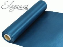 Eleganza satin fabric (29cm x 20m/Teal)