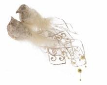 foam bird w tulle tail w fthr