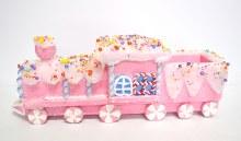 Christmas Train Pink