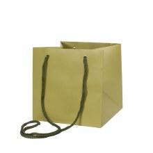 Hand Tie Bag Sage Green (17x17cm)