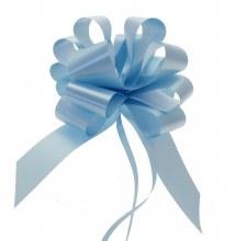 Pull Bow 50mm Light Blue (x20)