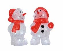 LED acr snowman 2ass outd GB