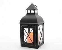 LED metal lantern outdoor bo