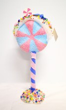 Standing Lollipops Pink & Blue