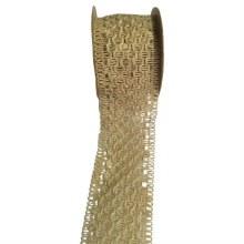 Ribbon Braided Natural (53mm)
