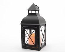 LED metal lantern