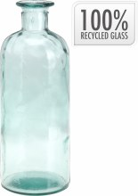 Bottle recycled glass (9.5x18cm/1500ml)