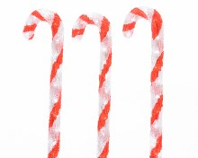 LED 3 acryl candy canes out GB