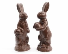 Poly bunny standing (2 assorted)