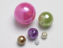 Beads - Lilac 20mm