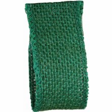 Wired Rustic Hessian 32mm Green