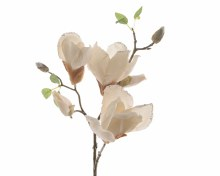silk magnolia branch glitter