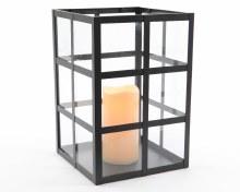 LED square metal urban lantern