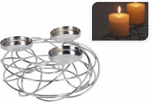 CANDLE HOLDER FOR 3 CANDLES