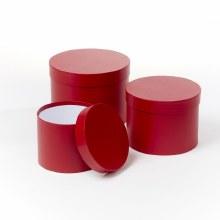 Hat Box Symphony Red Set/3