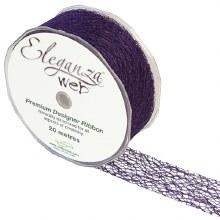 Web Ribbon 38mm Purple