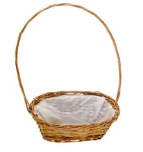 Basket Oval Manhattan Display Natural (38cm)