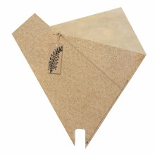 Sleeve Handmade Natural (50x53cm)