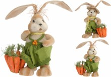 Rabbit boy and girl (33cm/2 assorted)