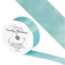 Candy Shimmer Metallic Ribbon Ice Blue 38mmx10m