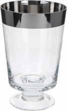 HURRICANE CANDLE HOLDER GLASS