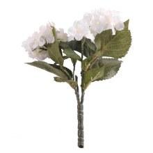 Artificial Hydrangea bush Cream