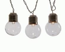 LED clear bulb garl ind GB tr