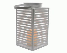 LED metal beach lantern bo out