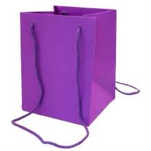 Hand Tie Bag Purple (19x25cm)