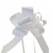 Pull Bow 50mm White (x20)