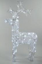 LED acrylic reindeer outd GB