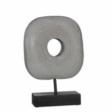 Arte sculpture light grey