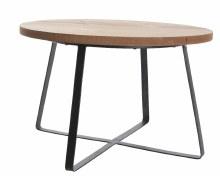 firwood table w iron legs