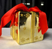 Christmas Boxes Gold