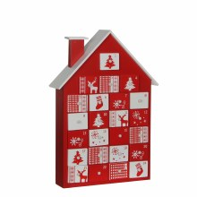 ADVENT HOUSE L27.5W7H38.5 RED