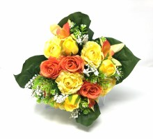 Bush Rose/Rose Bud Yellow x22