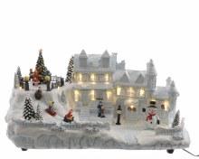 LED Christmas village ind GB