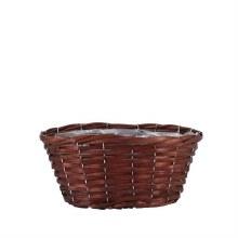Basket Oval Woodhouse Nut Brown (32x18cm)