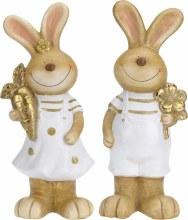 Ceramic Rabbit Boy/Girl Assorted (55cm)